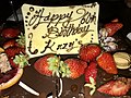 Happy 60th Birthday Krzyś chocolate cake 02.jpg