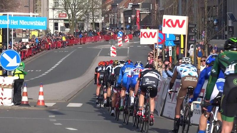 File:Harelbeke - Driedaagse van West-Vlaanderen, etappe 1, 7 maart 2015, aankomst (A19B).ogv