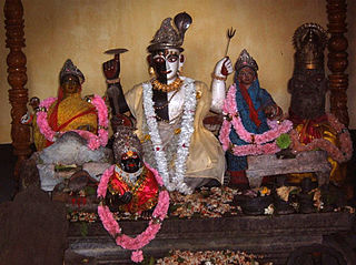Harihara - half Shiva half Vishnu