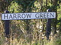 Harrow Green sign.JPG