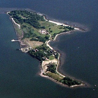 Hart Island (Bronx) Island, part of the Pelham Islands, in the Bronx, New York