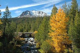 Hat Creek (California) - Hat Creek in Lassen Volcanic National Park