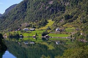 Masfjorden - View of the Haugsværsfjorden