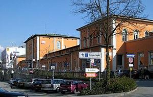 Passau Hauptbahnhof - North side and main entrance