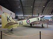 Hawker Sea Fury at the Fleet Air Arm Museum February 2015.jpg