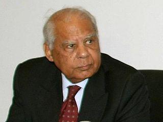 Hazem El Beblawi former Egyptian Prime minister