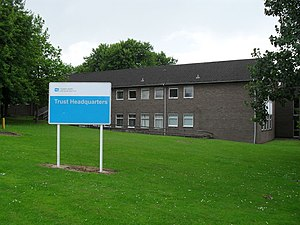 English: Headquarters of Southern Health & Soc...