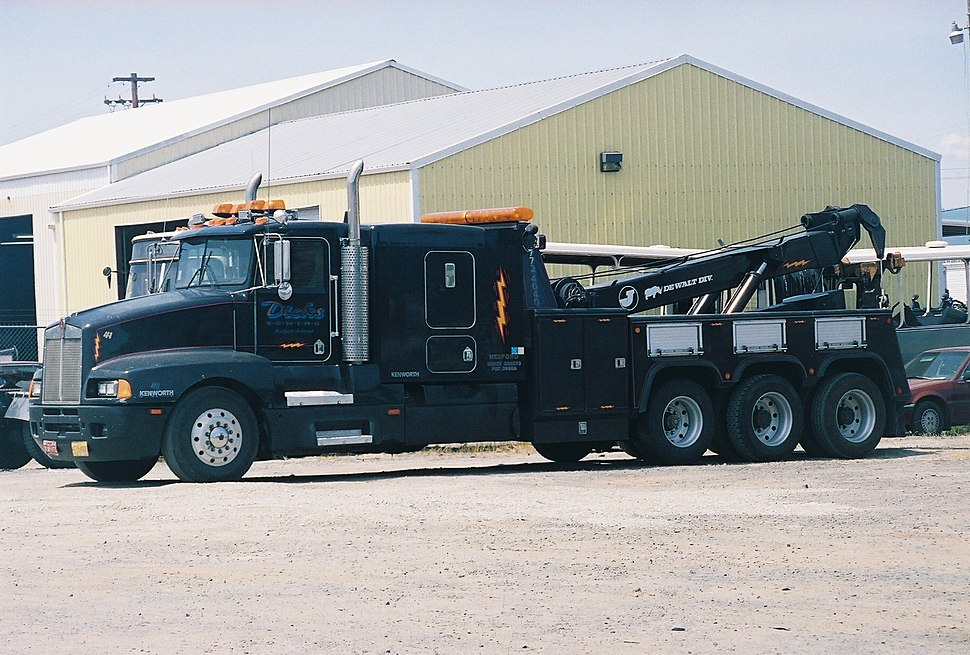 Heavy Boom Truck