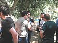 Hebrew Wikipedia (2011) Yarkon Park meeting ap 3.JPG