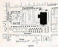 Heilbronn, Altes Theater, Lageplan, Ausführungsplan von Theodor Fischer (* 28. Mai 1862 in Schweinfurt; † 25. Dezember 1938 in München).jpg