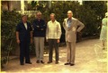 Helmut Schmidt, James Callaghan, Jimmy Carter and Giscard d'Estaing meet in Guadeloupe. - NARA - 182938.tif