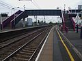 Hendon station fast look north.JPG