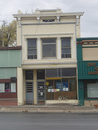 Richmond, Utah - Hendricks Confectionery Building is one of 17 sites in Richmond listed on the National Register of Historic Places