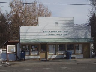 Henefer, Utah Town in Utah, United States