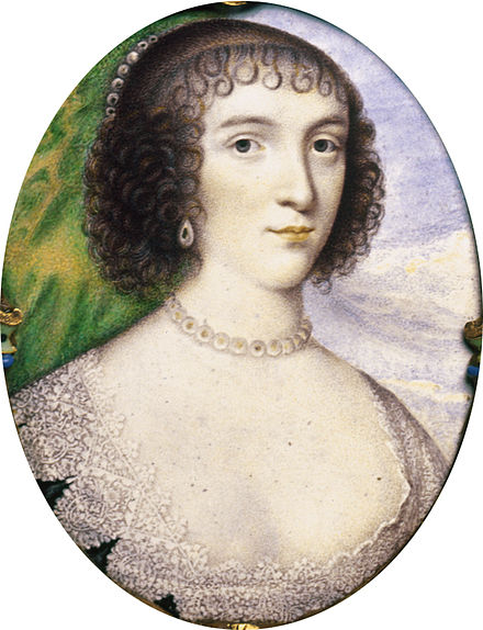 Venetia Digby (Henri Toutin, finished 1637, four years after her death) Henri Toutin - Portrait of Lady Venetia Digby - Walters 44177 cropped.jpg
