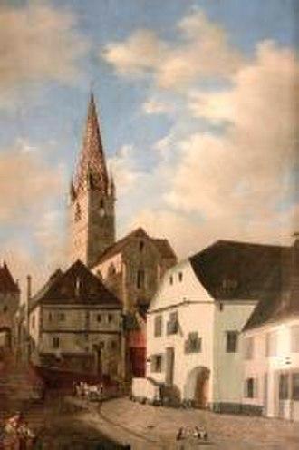 Henric Trenk - Image: Henric Trenk Biserica evanghelica din Sibiu