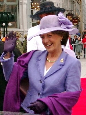 Princess Margriet of the Netherlands - Princess Margriet arrives in Ottawa to attend the Canadian Tulip Festival in May 2002.