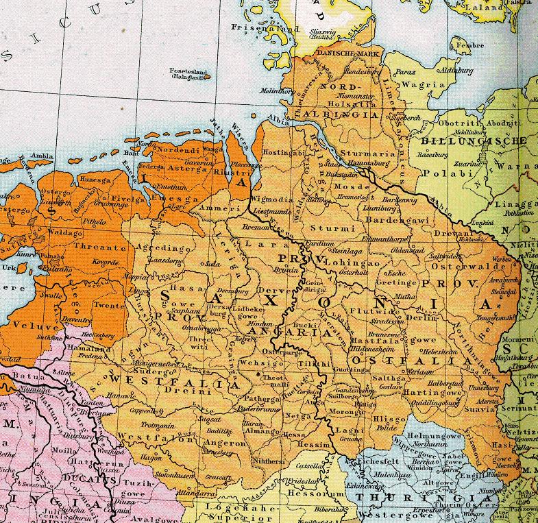 Herzogtum Sachsen 1000