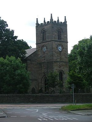 John Hodgson (antiquary) - Heworth Church.
