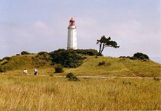 Dornbusch lighthouse lighthouse in Mecklenburg-Western Pomerania, Germany