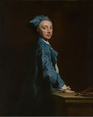 Joseph Highmore - Self-Portrait ca. 1745/47,  National Gallery of Victoria