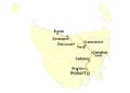 Highway 1 (Tasmania) map.png