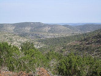 Edwards County, Texas - Texas Hill Country in Edwards County south of Rocksprings