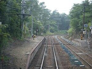 Himekawa Station (Hokkaido) - Image: Himekawa station platform