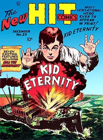 Kid Eternity - Image: Hit Comics Number 25
