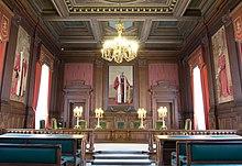 Bild eines Gerichtssaals