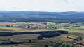 Hofheim i UFr - Schwedenschanze Aussichtsturm - Kerbfeld v O.JPG