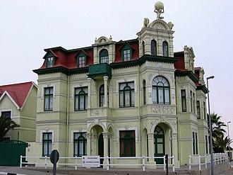German Namibians - Hohenzollernhaus in Swakopmund