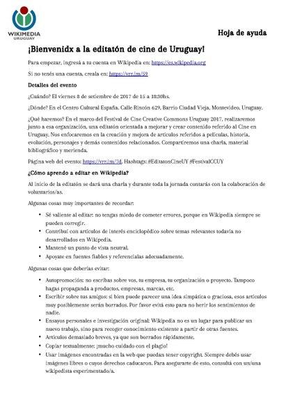 Archivo:Hoja de ayuda para Editatón de Cine Uruguayo.pdf - Wikipedia ...