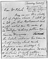 Holograph letter of Edward jenner to Mrs. Black Wellcome M0011716.jpg