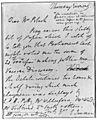 Holograph letter of Edward jenner to Mrs. Black Wellcome M0011716.jpg