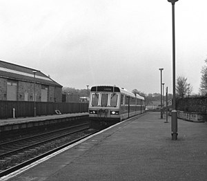 Horsforth railway station - The station in 1988
