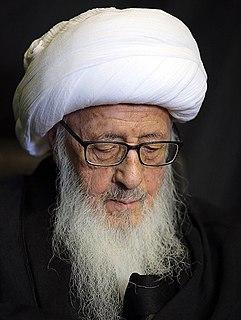 Hossein Waheed Khorasani Iranian grand ayatollah