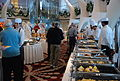 Hot Buffet line aboard Celebrity Equinox.jpg