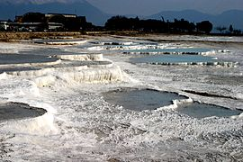 Hot springs of Pamukkale.JPG