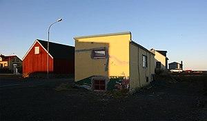 Blönduós - Image: Houses in Blönduós II