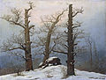 Huenengrab im Schnee (C D Friedrich).jpg
