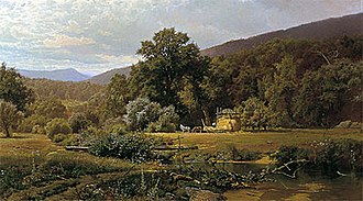 Hugh Bolton Jones - Image: Hugh Bolton Jones 1874 Summer in the Blue Ridge