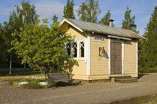 Humppila museum railway station railway station in Humppila, Finland