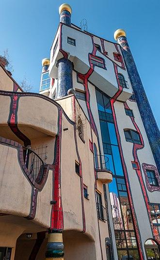 Plochingen - Hundertwasser house