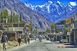 Aliabad, Hunza - A view of Aliabad (2013)