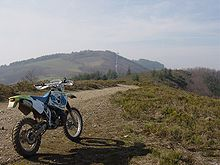 L'enduro dans collaborateurs motocycle
