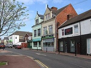 Huthwaite - Image: Huthwaite Market Street