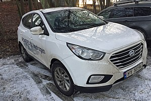 Hyundai ix35 FCEV - Hyundai ix35 Fuel Cell in Norway