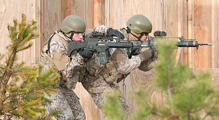 Latvian soldiers during an exercise I'm with you battle buddy 141120-A-LY282-013.jpg