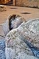 I. világháborús emlékmű részlete, óriási fekvő halott katona szobra (Pásztor János, 1939), Hősök tere, Székesfehérvár (8629226162).jpg